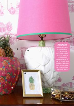 Ivy & Piper / February 2013 Love this lamp