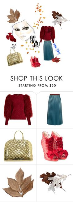 """autumn FlarE"" by bromaxx ❤ liked on Polyvore featuring Sonia Rykiel, Aviù, Louis Vuitton, Sophia Webster and Bliss Studio"