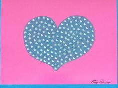 """Big Hearted"" Hand Painted Greeting Card & Design by Melody Germain of My ""Escape"" Art"
