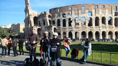 A Rome segway tour is the best way to explore the city of architecture without being worried about the availability of public transports.