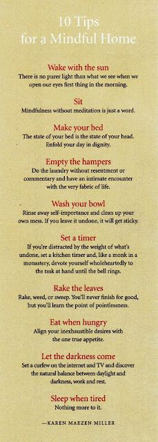 LOVE all of these tips...such great reminders !