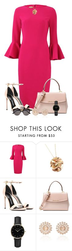"""""""Workwear"""" by larycao ❤ liked on Polyvore featuring Michael Kors, Tom Ford, ROSEFIELD, Nam Cho and Illesteva"""