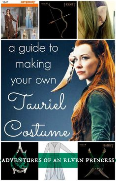 The Adventures of An Elven Princess: A Guide to Making Your Own Tauriel Costume