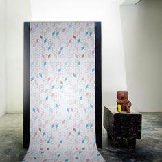 Keziah Day by Florent Bodart — Shop Geometric Minimalist Wallpaper, Geometric Wallpaper Design, Geometric Shapes, Elle Decor, Designer Wallpaper, Contemporary, Modern, Wallpapers, Pure Products