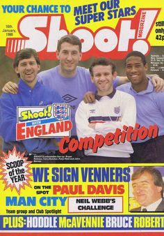 BRYAN ROBSON / TERRY BUTCHER / PETER REID / JOHN BARNES Shoot 16 Jan 1988 | eBay Peter Reid, Bryan Robson, John Barnes, The Past, Challenges, Football, History, Classic, Ebay