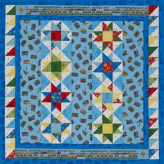 Quilts for Kids simple stars