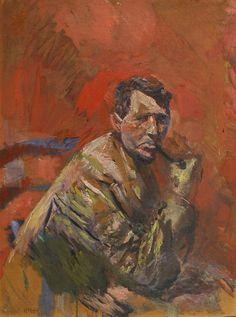 Christian Krohg 1852-1925: Portrait of Paul Gauguin 