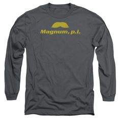 """Checkout our #LicensedGear products FREE SHIPPING + 10% OFF Coupon Code """"Official"""" Magnum Pi / The Stache - Long Sleeve Adult 18 / 1 - Magnum Pi / The Stache - Long Sleeve Adult 18 / 1 - Price: $29.99. Buy now at https://officiallylicensedgear.com/magnum-pi-the-stache-long-sleeve-adult-18-1"""