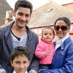 Mahesh Babu Family Photos