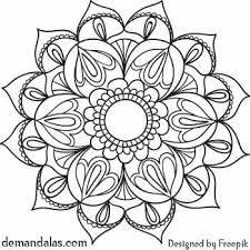 Dibujos En Mandala Para Imprimir En Pdf Para Descargar Buscar