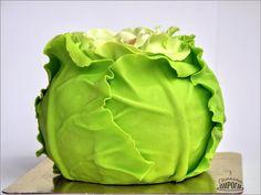 3D cabbage Cake  sugar paste https://vk.com/svetkintort