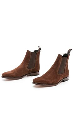 Loake 1880 Mitchum Suede Chelsea Boots