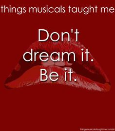 Things Musicals Taught Me - Rocky Horror Picture Show