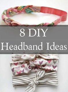DIY no sewing braided Knot Bow Head Wrap Sewing InstructionsLearn how to make this DIY sewing pattern for baby, girl and women's top knot head wrap DIY headband DIY headband ideas - Headband Bebe, Cute Headbands, Headbands For Babies, Sewing Headbands, Homemade Headbands, Baby Headband Tutorial, Braid Headband, How To Make Headbands, Fabric Headbands