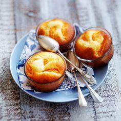 Découvrez la recette des petits gâteaux ricotta mandarine