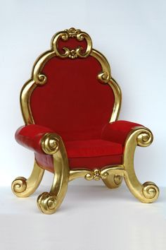 Santa Claus Chair Red by Pop Up decoration