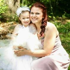 My granddaughter and great granddaughter.