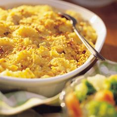Cheesy Chicken Casserole- I added the vegetables right in the dish to bake with the rest (Farrah)