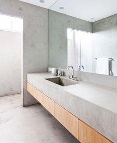 5 badkamers zonder tegels | Material 06 | Trespa | Pinterest ...