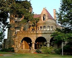 Rhodes Hall was one of the last examples of Romanesque Revival and Victorian Era architecture.