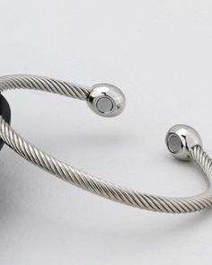 fac21934b21 Magnetic bracelet ladies mens bangle copper healing therapy arthritis pain  cuff