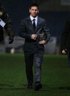 Lionel Messi of FC Barcelona
