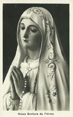 All about Mary. Praying The Rosary, Lady Of Fatima, Mary And Jesus, Art Thou, Maria Black, Hail Mary, Blessed Virgin Mary, My Favorite Image, Blessed Mother