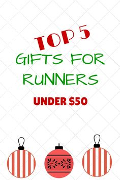 Top 5 Gifts for Runners Under $50 Race Training, Training Plan, Training Programs, Marathon Training For Beginners, Half Marathon Training, 5 Gifts, Great Gifts, Couch To 5k, Gifts For Runners