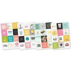 """Simple Stories - Carpe Diem Insta Quote Stickers 4""""x6"""" - 4916 (Pre-order Only)"""