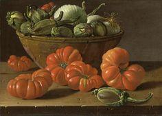 Luis Egidio Meléndez - tomates cebollas berenjenas