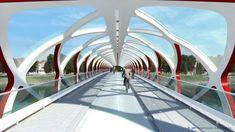 Santiago Calatrava calgary bridge