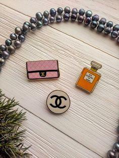 Chanel Wooden Pins Set Fashion Paris patch от LovePyramid на Etsy