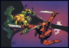 Leo VS Deadpool