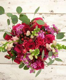 BOUQS Romantic Valentine Flowers Bouquet l Earliest Delivery 2/12 l Order Today @ https://www.thebouqs.com/en/176-valentine-s-day