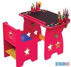 20 Inspirational Desks For Little Ones Style - http://www.decorationous.com/interior-design/20-inspirational-desks-for-little-ones-style.html