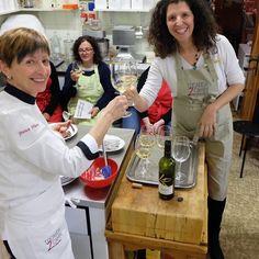 #corsodicucina I LEGUMI in compagnia del #LeDonnedelVino - #TrentinoAltoAdige. Oggi abbiamo il piacere di accompagnare ai nostri piatti i vini di @cantinalasterosse  #ledonnedelvino #wine #vino #incucinaconfranca #incontridigusto