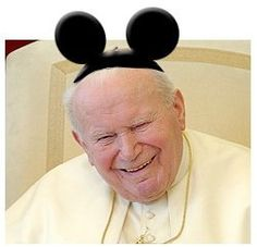 Pope John Paul II SO ADORABLE