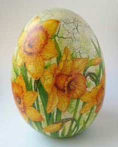 Egg Crafts, Easter Crafts, Easter Show, Decoupage, Easter Wallpaper, Egg Tree, Arte Country, Ukrainian Easter Eggs, Egg Designs