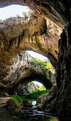 Devetashka Cave, Bulgaria moment love