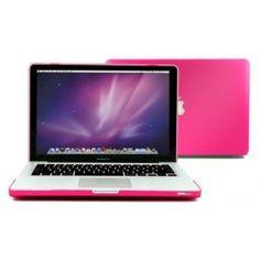 "Housse rose MacBook Pro 13"" Macbook Pro 13, Macbook Apple, Macbook Laptop, Bun Hair, Slipcovers"