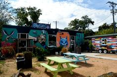 Blue Cat Cafe in Austin, TX - a newly opened vegan cafe that houses rescue cats available for adoption. They just recently opened and have already had nearly 200 adoptions. What a great idea! #austin #texas #cats #vegan #cafe #restaurant #animals #animalrescue #adoptdontshop