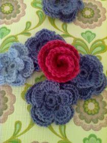 Bees and Appletrees (BLOG): Een dubbele bloem haken - Crochet Flower /How to Add Rounds