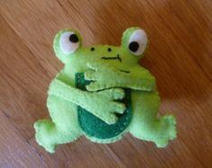 Frog Organic Catnip Cat Toy