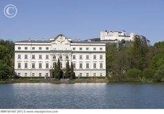 Salzburg, Austria view of Schloss Leopoldskron