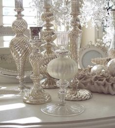 elegant white Christmas