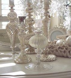 elegant white Christmas