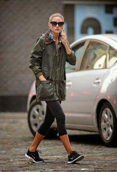 Los mejores 50 looks de Olivia Palermo para días cálidos de Otoño. | Effortless Chic