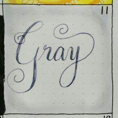 6/11: Gray #kccolorchallenge #gray #kristinacastagnola