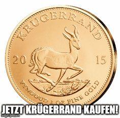Krügerrand Gold jetzt kaufen
