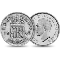For good fortune, it is traditional for the bride to have a silver sixpence in her shoe. Continue the tradition with this stunning genuine silver sixpence gift. British Wedding Traditions, English Coins, Something Old Something New, Gold And Silver Coins, Old Money, Irish Wedding, World Coins, Coin Jewelry, Us Coins